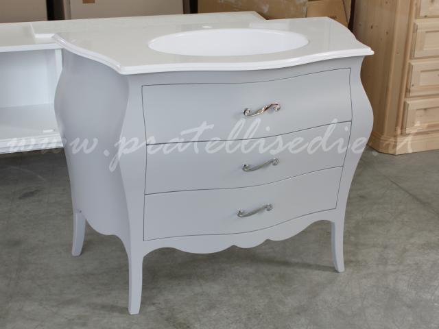 mobili da bagno barocco bagno barocco bombato piccolo con mineralmarmo