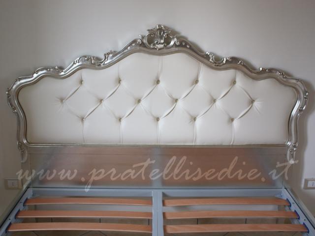 Letto barocco mod 39 700 pratelli mobili - Mobili barocco moderno ...