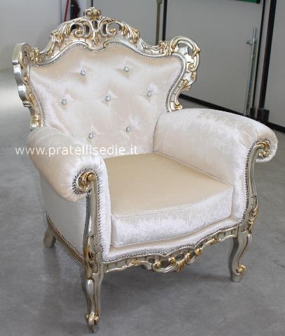 Poltrona barocco pratelli mobili - Mobili stile barocco moderno ...