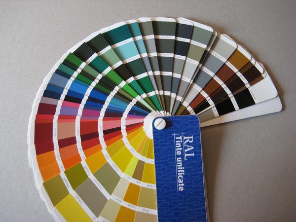 Tabella colori ral pratelli mobili for Cartella colori pareti interne
