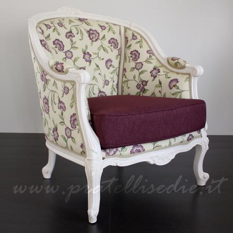 Poltrona barocco verona pratelli mobili for Poltrone barocche