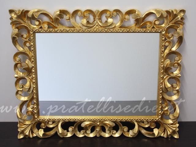 Specchiera barocca pratelli mobili - Specchio cornice nera barocca ...