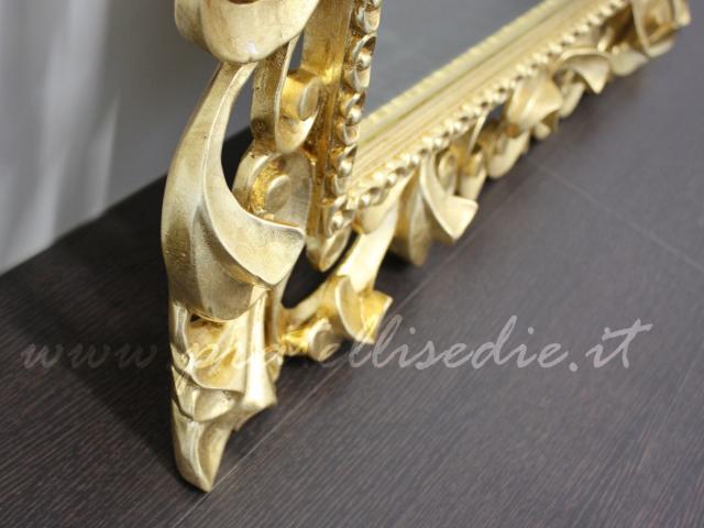 Specchiera barocca pratelli mobili for Specchiera barocca