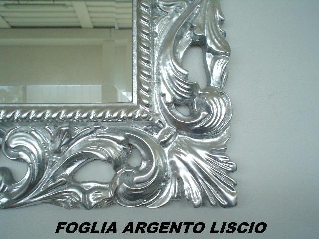 Mobili Moderni Foglia Argento : Mobili da bagno foglia argento liscio