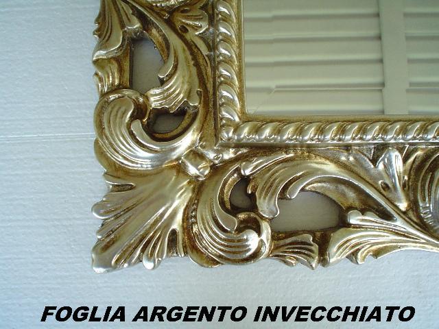 Mobili Moderni Foglia Argento : Foglia argento invecchiato