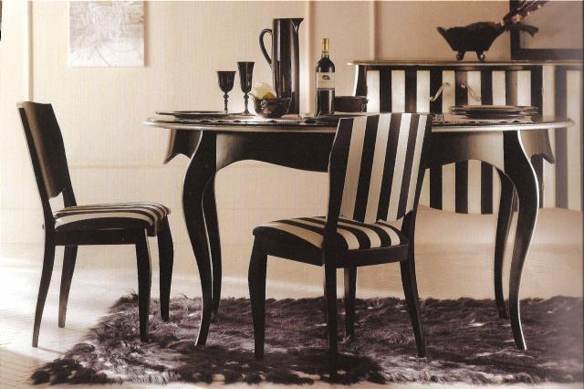 Tavolo ovale sagomato art 703 g pratelli mobili - Tavolo barocco moderno ...